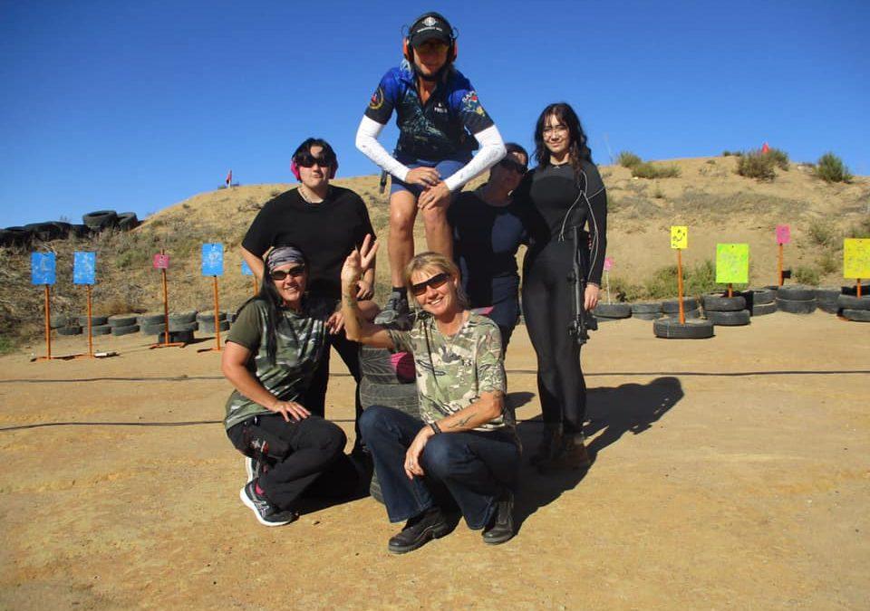 More women joining shooting ranges