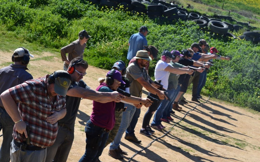 Protect your community: enroll for gun training
